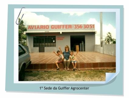 Primeira sede da Guiffer Agrocenter